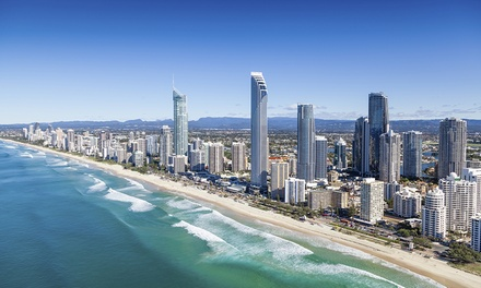 Gold Coast, Surfers Paradise: 2, 3 or 5 Nights for Four with Wi-Fi, Wine and Late Check-Out at Carlton Apartments