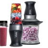 Ninja QB3000 Nutri Ninja 2-In-1 Blender (Refurbished)