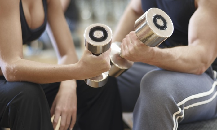 Fitness and Motion - Midway: Three Personal Training Sessions with Diet and Weight-Loss Consultation from Fitness and Motion (65% Off)