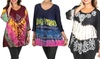 Women's Boho-Chic Tunics: Women's Boho-Chic Tunics