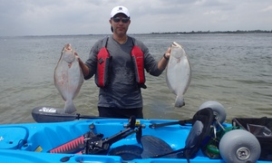 Kayak Fishing Guide Services: Six-Hour Fishing Trip with Optional Meal from Kayak Fishing Guide Services (30% Off)
