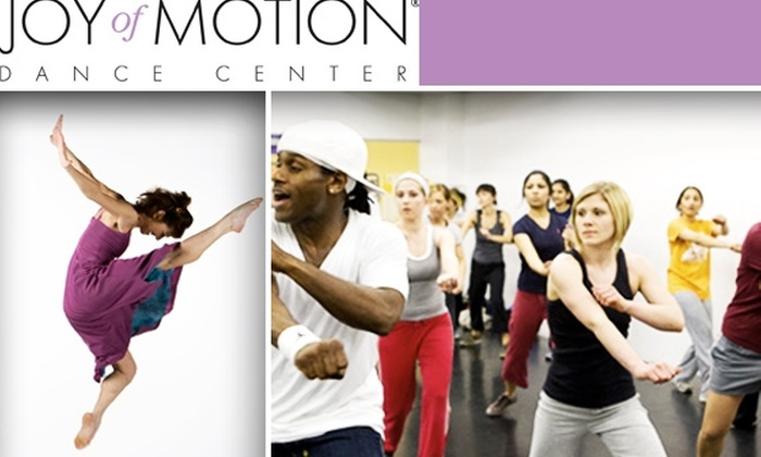 Joy of Motion Dance Center - Washington DC: $49 for Six-Week Intro to Dance Series at Joy of Motion