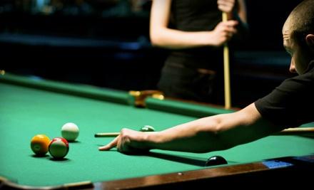 $20 Groupon for Billiards, Pub Fare, and Drinks - The Break Billiards & Brew in Salem