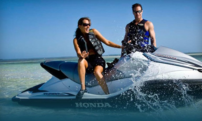 Rick's Rent-A-Boat - Bayfront: $99 for a Half-Day Jet-Ski Rental at Rick's Rent-A-Boat in Chula Vista (Up to $240 Value)