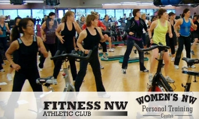 Fitness NW/Only Women's Fitness - Calgary: $29 for One Month of Gym Access, Fitness Assessment, and Five Classes at Fitness NW/Only Women's Fitness ($250 Value)