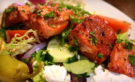 Dinner for 2 (up to a $79.85 total value) - Maroosh Mediterranean Restaurant in Coral Gables