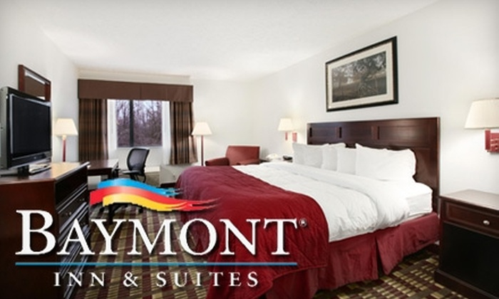 Baymont Inn & Suites - Hudson: $35 for a One-Night Stay and Breakfast at Baymont Inn & Suites