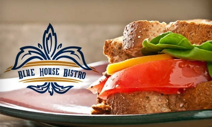 Blue House Bistro - Holland: $15 for $30 Worth of Small Plates, Sandwiches, and Drinks at Blue House Bistro in Holland