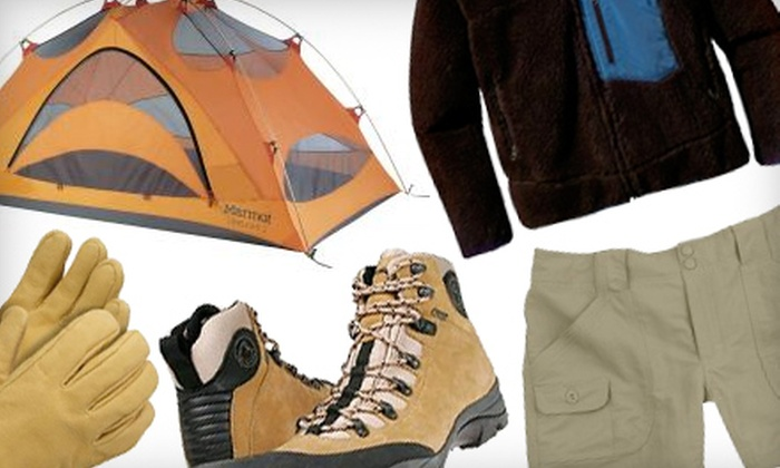 The Benchmark Outfitter - Blue Ash: $20 for $40 Worth of Outdoor Gear and Apparel at The Benchmark Outfitter