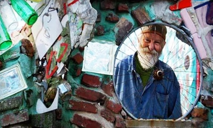 Philadelphia's Magic Gardens - Washington Square West: $11 for Tour and Souvenir Mosaic Picture Book at Philadelphia's Magic Gardens (Up to $22 Value)
