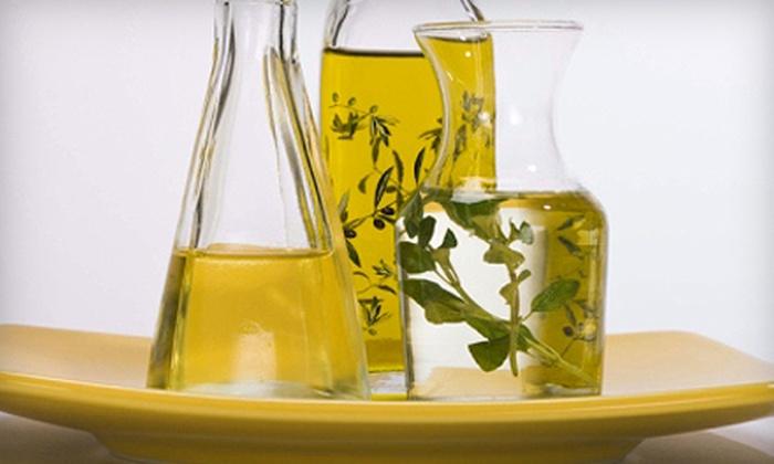 Teaoli - Multiple Locations: $7 for $15 Worth of Olive Oil, Tea, and Balsamic Vinegar at Teaoli