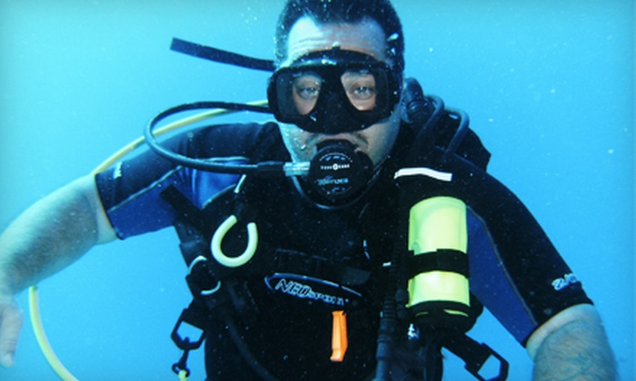 Just Add H20 - Clay: $149 for a PADI Open-Water Scuba-Certification Course at Just Add H2O