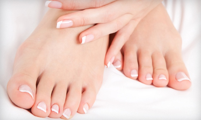 A Perfect 10 Nail Salon - Knightville: One or Three Spa Mani-Pedis or Gel-Polish Manicures at A Perfect 10 Nail Salon in South Portland (Up to 57% Off)