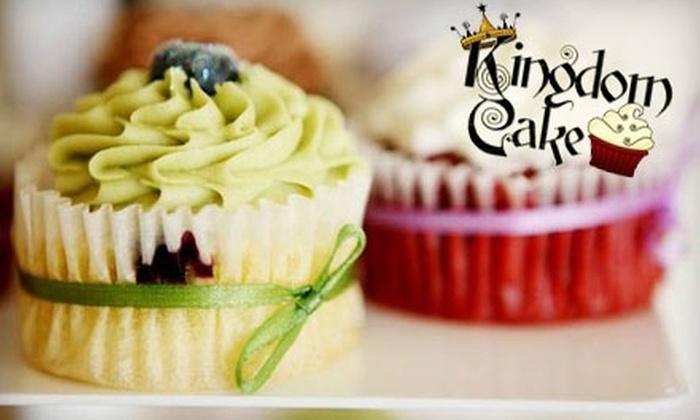 Kingdom Cake - Telegraph Hill: $12 for a Dozen Mini Cupcakes at Kingdom Cake ($24 Value)