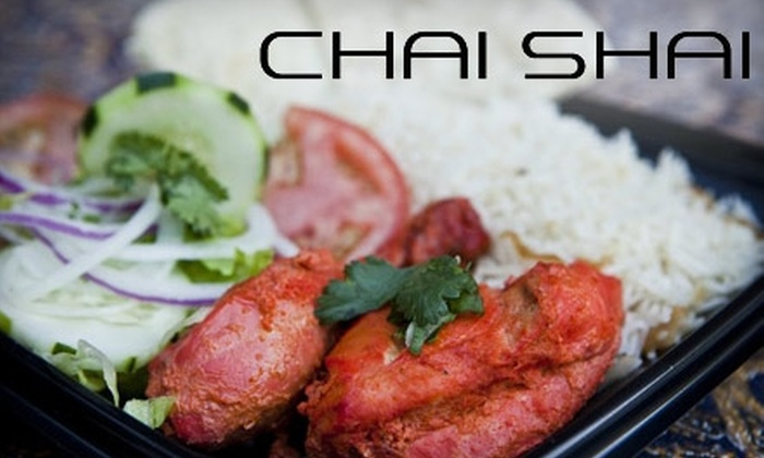 Chai Shai - Western 49-63: $7 for $15 Worth of Pakistani and Indian Fare and Teas at Chai Shai
