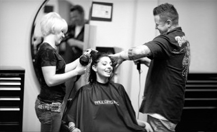 David Troy Salon: Men's Haircut & Shampoo with a Senior or Master Stylist - David Troy Salon in New Braunfels