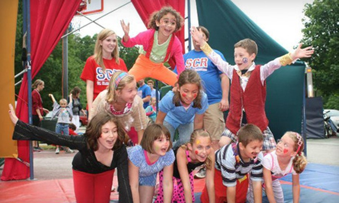 Cirque Amongus - Detroit: Four or Six Circus-Skills Open-Play Sessions or Circus Birthday Party for Up to 16 People at Cirque Amongus in Livonia