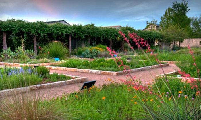 Lady Bird Johnson Wildflower Center - Circle C Ranch: $8 for Two Tickets to Lady Bird Johnson Wildflower Center