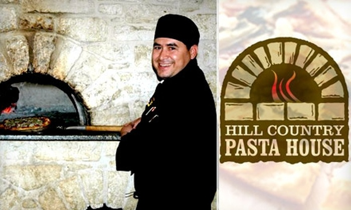 Hill Country Pasta House - Mountain View: $15 for $30 Worth of Italian Fare at Hill Country Pasta House