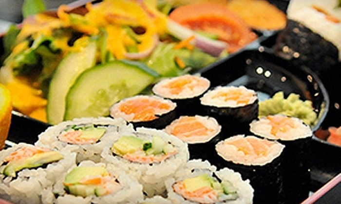 Crazy Sushi - Erin Mills: $12 for $25 Worth of Japanese Fare and Drinks at Crazy Sushi in Oakville