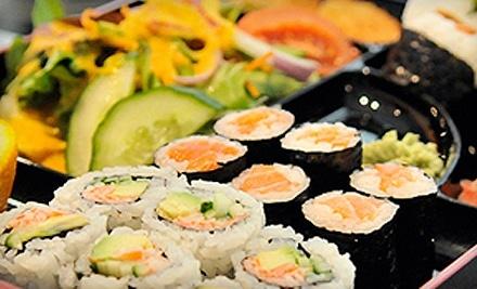 $25 Groupon to Crazy Sushi - Crazy Sushi in Oakville