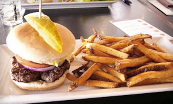 Tommy Burger Bar - Haysboro: $15 for $30 Worth of Appetizers, Burgers, Entrees, Milkshakes, and Drinks on a Weekday or Weekend at Tommy Burger Bar