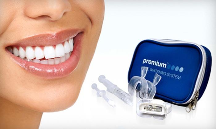Premium Home Whitening - Rio Grande Valley: $29 for a Home Teeth-Whitening Kit from Premium Home Whitening ($158 Value)