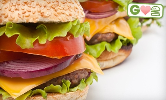 Candy - Portland: $9 for Two Cowboy Burgers at Candy (Up to $18 Value)