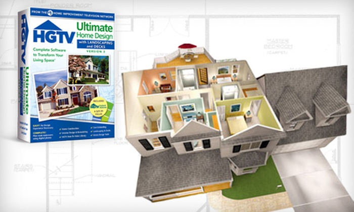 Nova Development: $40 for an HGTV Ultimate Home Design with Landscaping & Decks 3 Software Program ($99.95 Value)