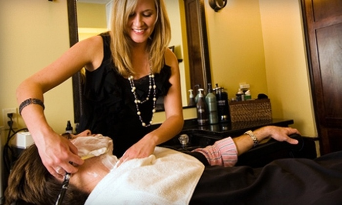 Old South Barber Spa - Charleston: $30 for an Old-Fashioned Blade Shave and a Stimulating Scalp Massage at Old South Barber Spa ($62 Value)