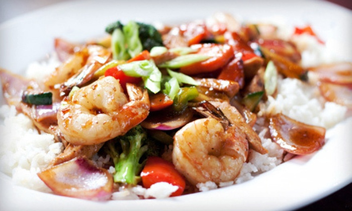 Chan's Fine Oriental Dining - Social: Chinese Cuisine at Chan's Fine Oriental Dining in Woonsocket (Up to 56% Off). Two Options Available.