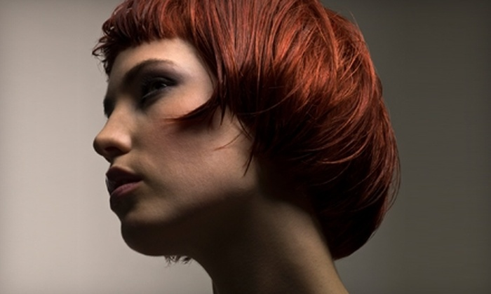 Color Studio - Lawrence: $50 for Haircut and Full-Highlight Service at Color Studio (Up to $135 Value)