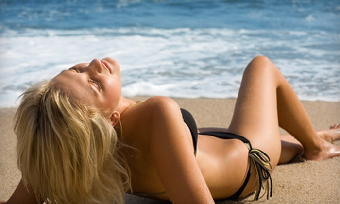 Let's Glow Spray Tan - Downtown: One or Three Spray Tans at Let's Glow Spray Tan (Up to 52% Off)