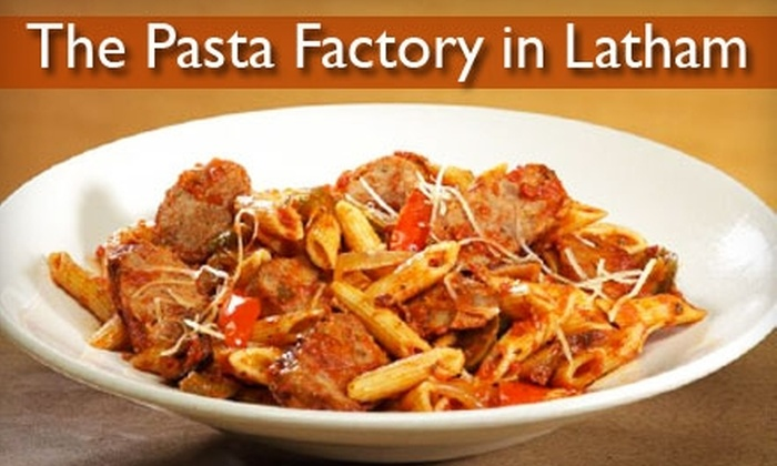 Pasta Factory - Albany / Capital Region: $5 for $10 Worth of Pasta and More at Pasta Factory