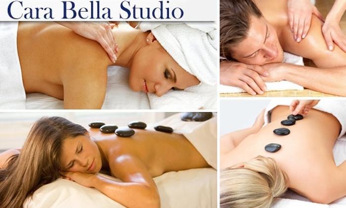 Cara Bella Studio - Denver: Choice of Shiatsu, Deep Tissue, or Terracotta Bowl Massage at Cara Bella Studio