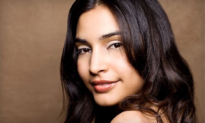 House of Beauty - Multiple Locations: $10 for $20 Worth of Threading and Salon Services at House of Beauty