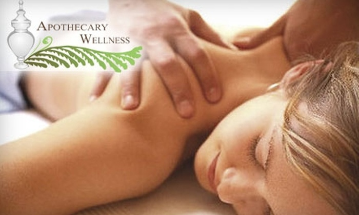 Apothecary Wellness Spa - SBIC/ West Federal Hill: $52 for One-Hour Aromatherapy Massage with Choice of Hand or Foot Softening Treatment at Apothecary Wellness Spa ($105 Value)