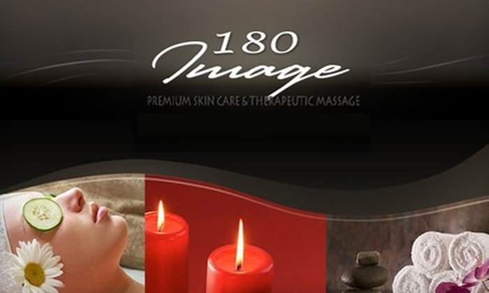 180 Image - Colorado Springs: $49 for a Serenity Indulgence Facial & 50-Minute Swedish Massage at 180 Image ($125 Value)