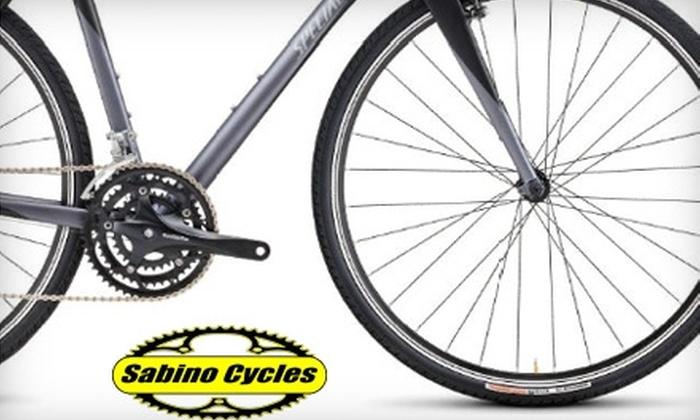 Sabino Cycles - Ward 2: $25 for $50 Worth of Gear, Parts, and More at Sabino Cycles