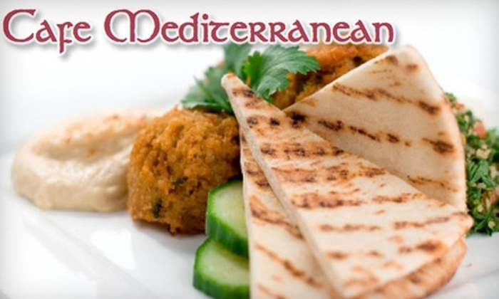 Cafe Mediterranean - Forestville: $15 for $30 Worth of Fare and Drinks at Café Mediterranean