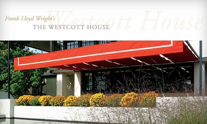 The Westcott House - Springfield: $10 for Two Admissions to Frank Lloyd Wright's Westcott House