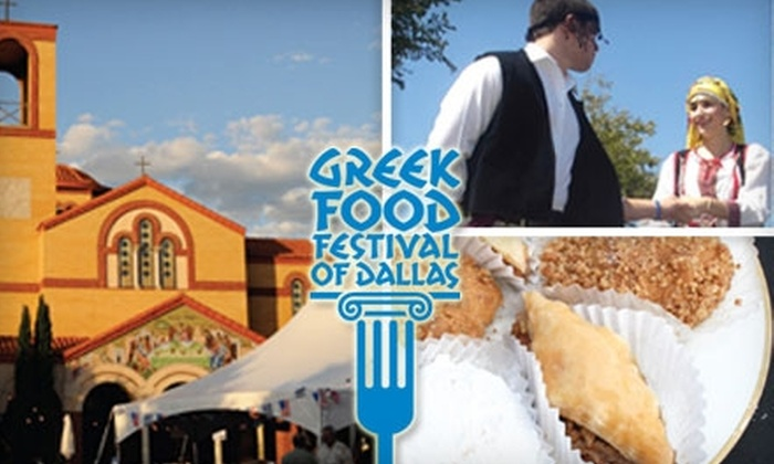 Greek Festival of Dallas - Dallas: $6 for Two Adult General-Admission Tickets to Greek Food Festival of Dallas ($12 Value)
