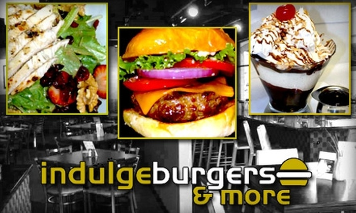 Indulge Burgers & More - Phoenix: $15 for $30 Worth of Build-Your-Own Burgers and Drinks at Indulge Burgers & More
