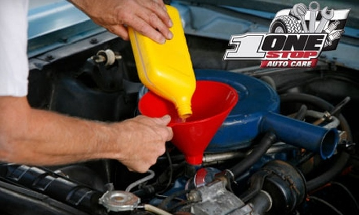 One Stop Auto Care - Eagle Rock: $15 for an Oil Change and Inspection at One Stop Auto Care in Eagle Rock ($49.99 Value)
