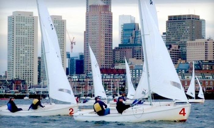 Courageous Sailing - Charlestown: $95 for a Two-Hour Private Sailing Lesson or Two-Hour Cruise for Up to Three People from Courageous Sailing in Charlestown ($190 Value)