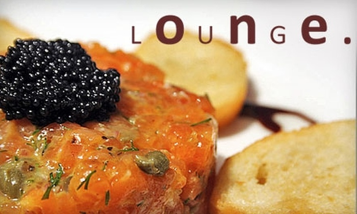One Lounge - Washington DC: $25 for $50 Worth of Pan-European Cuisine and Drinks at One Lounge