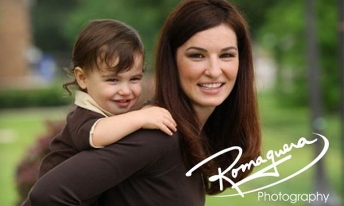 Romaguera Photography - 5: $60 for a 30-Minute Family Photo Session and an 8''x10'' Retouched Portrait at Romaguera Photography ($123 Value)