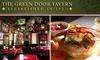 Green Door Tavern - Near North Side: $25 Worth of Pub Grub and Brew at the Green Door Tavern