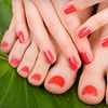 55% Off Mani-Pedi at Avalon Salon
