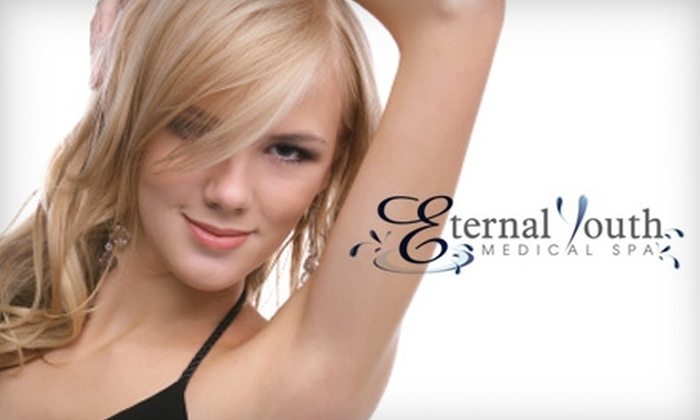 Eternal Youth Medical Spa - Interstate Business Park: $99 for Three Laser Hair-Removal Treatments at Eternal Youth Medical Spa (Up to $1,125 Value)